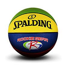 SPALDING官方旗舰店JR.NBA青少年5号室外橡胶篮球83-419Y 83-419y