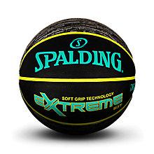 SPALDING官方旗舰店Extreme印花系列超软发泡室外橡胶篮球83-499Y 83-499y
